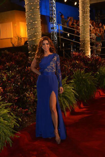 Lourdes Estephen de Sal y Pimienta deslumbró a todos con este sexy vesti...