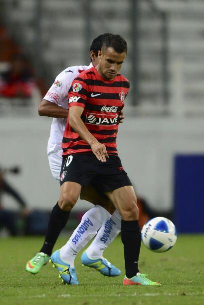 Maikon Leite.- Anotó el gol con el que Atlas le ganó a Veracruz y sumó t...