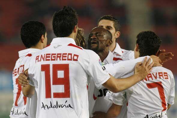 Con este triunfo el Sevilla se afianza en posiciones de 'Champions League'.