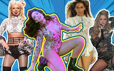 Dayanara nos recordó a Beyonce, a Britney y hasta a Shakira