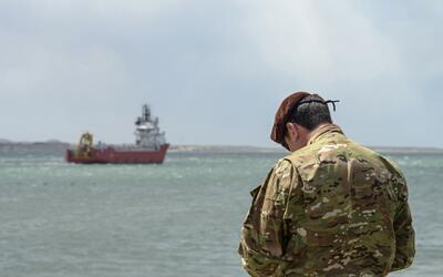 En la búsqueda del submarino argentino desaparecido ARA San Juan...