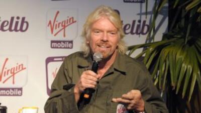 Richard Branson, el genio detrás de Virgin Mobile.
