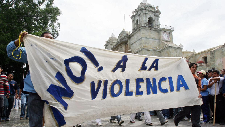 Una de las múltiples manifestaciones que se realizan en México cada año...