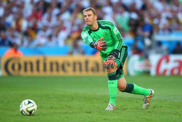 En la portería tenemos a Manuel Neuer del Bayern Munich. El porte...