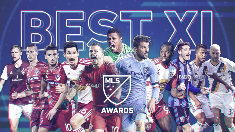 Once Ideal de la MLS en 2016