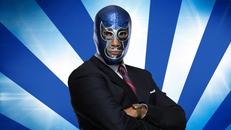 Tenoch Huerta es 'Blue Demon'