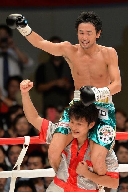 El japonés Shinsuke Yamanaka retuvo el título gallo del CMB por quinta v...