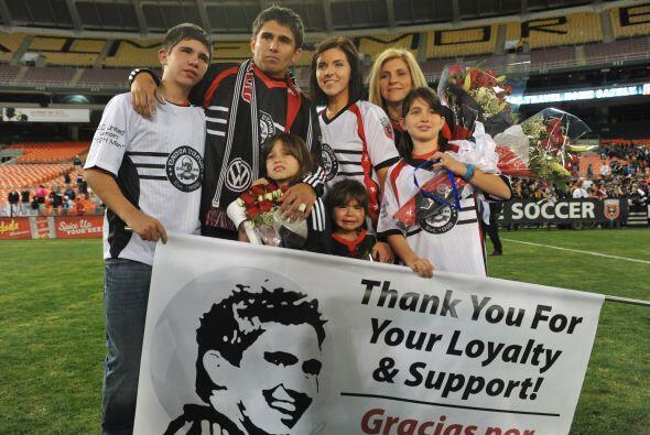 Moreno hizo vibrar el Estadio RFK, sede de incontables éxitos para él y...