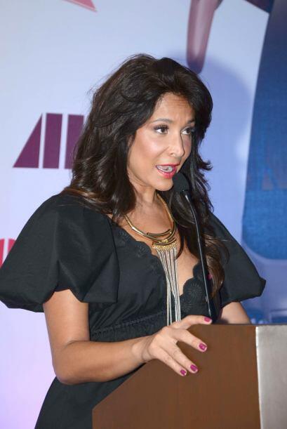 Lorena Rojas anunció en 2008 que padecía  cáncer de mama.