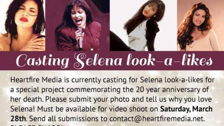 Una compañía de marketing realizará un video en honor a Selena Quintanil...