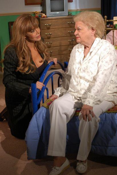 Lucía Méndez en 'Amor sin maquillaje'.