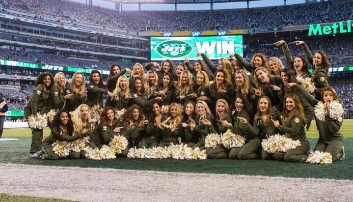 Los Jets eligieron a esta belleza para ir a Hawaii al Pro Bowl 2016. ¡Ch...