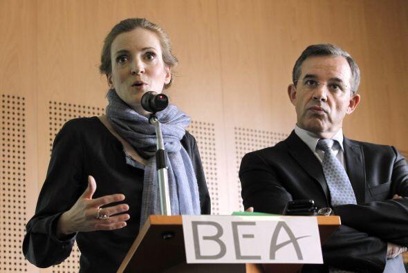Nathalie Kosciusko-Morizet, ministra francesa de Transportes dijo que 'e...