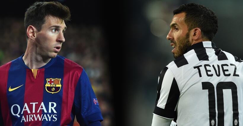 Las finales del Barcelona y la Juventus