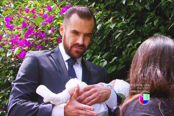¡Qué lindo te ves Mariano! Sin duda serías un extraordinario padre.