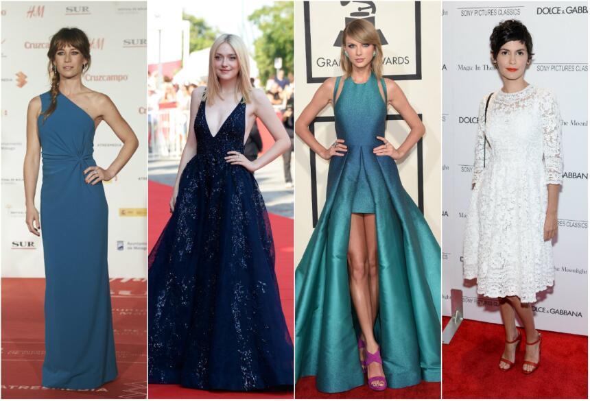 Inspírate en ellas para tu 'prom dress'
