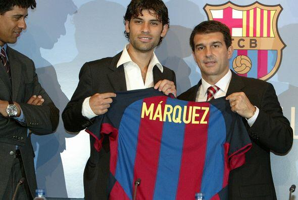 Tras su buena participación con el equipo francés, el Barcelona lo fichó...