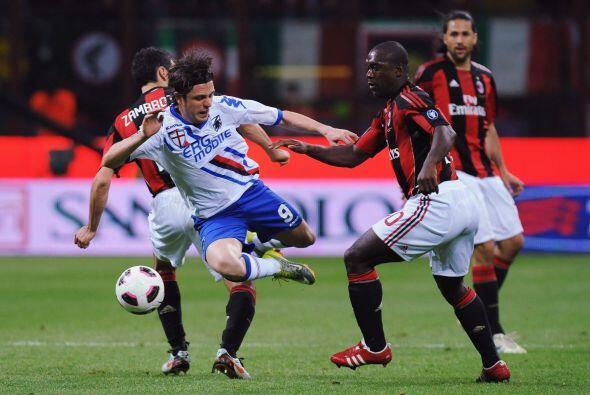 El Milan recibió a la Sampdoria y no defraudó.