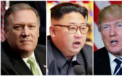 Pompeo viajó hace dos semanas a Corea del Norte en secreto para r...