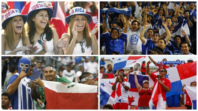 Conoce las sedes con más fanáticos de cada país de la Copa Oro 2017 pobl...