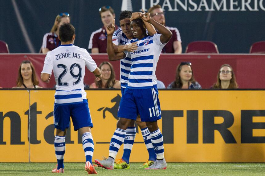 Fabián Castillo abrió el marcador para FC Dallas al minuto 71y parecía q...