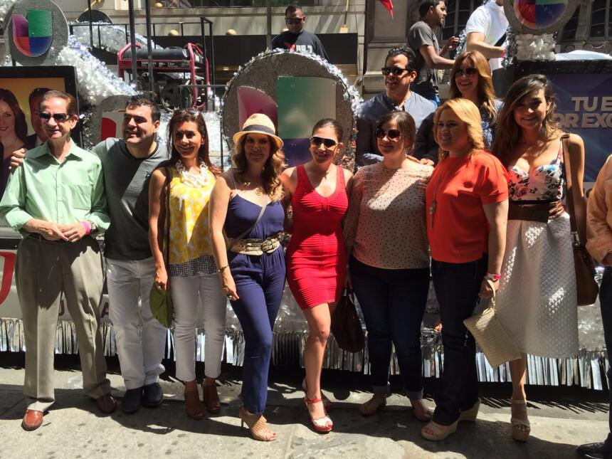 Univision en el Desfile Nacional Puertorriqueño