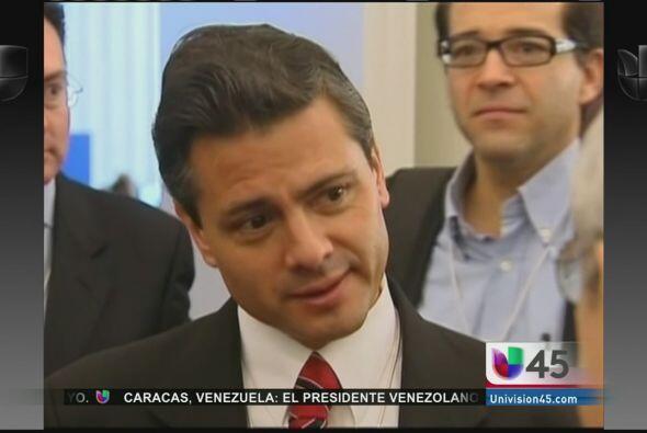 En medio del escándalo se encuentra el presidente mexicano Enrique Peña...