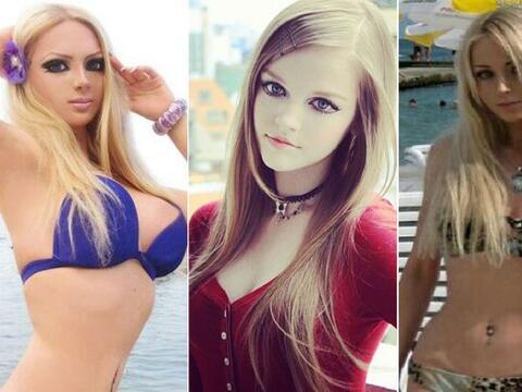 Estas chicas se han obsesionado con la muñeca Barbie, y han hecho...