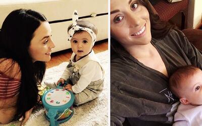 Detrás de cámaras: Zuria Vega contó lo que hace su pequeña hija Lua cuan...
