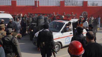 Ataque a una universidad en Pakistán