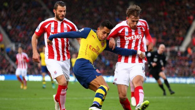 Los Gunners de Alexis Sánchez no pudieron sumar fuera de casa.