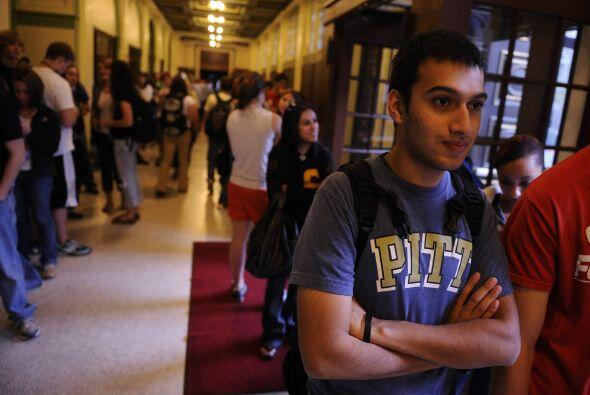10 - Universidad de Pittsburgh, Pennsylvania
