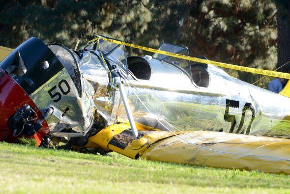 Fue en marzo cuando se estrelló mientras piloteaba su avioneta.