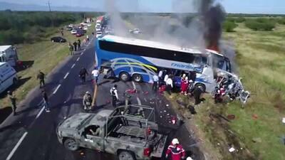 Los lesionados fueron trasladados a diferentes hospitales de la zona.