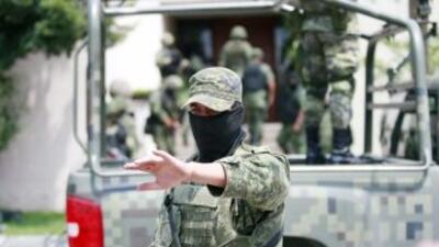 La Marina mexicana anunció el viernes el desmantelamiento de un laborato...