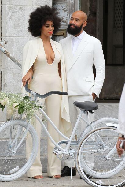 Solange Knowles y Alan Ferguson tuvieron una boda muy original.