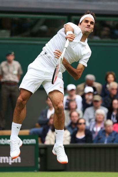A Federer le llevó una hora y 10 minutos para deshacerse de su rival por...