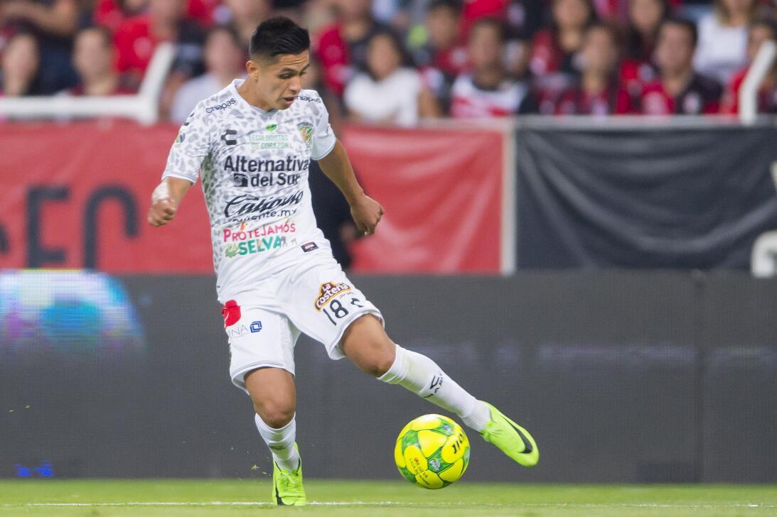 Al Club León podría llegar, de acuerdo a los rumores, Dieter Villalpando...