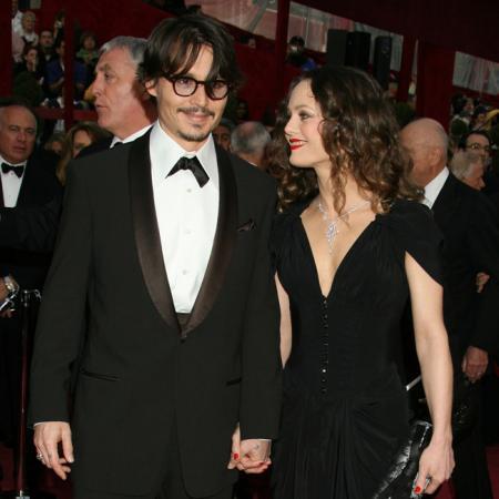 Johnny Depp y Vanessa Paradis antes de su separación