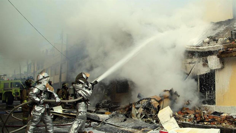 Accidente aéreo Bogotá