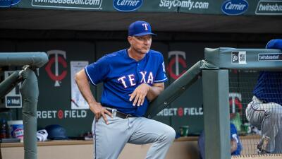Rangers despiden a su mánager Jeff Banister