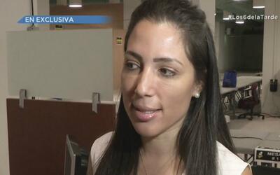 Alexandra Lúgaro logra radicar su candidatura