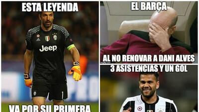 Imperdibles Memes: Dani Alves se burla del Barcelona y la Juventus quiere a CR7 en Cardiff