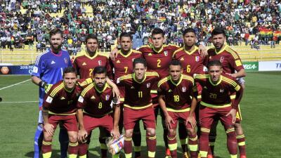 Jugadores venezolanos renuncian a la Vinotinto