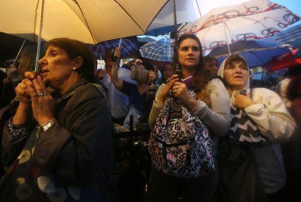 """Desde la cabecera de la manifestación se pidió """"una d..."""