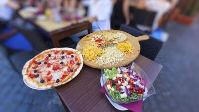 ¡Atención foodies! Roma tiene lugares para morirse de dicha