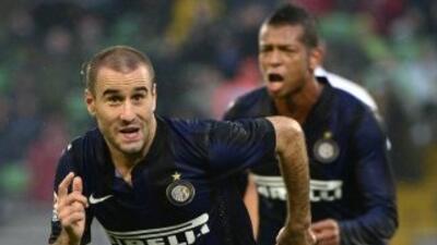 El argentino Palacio marcó el primer tanto para los 'nerazzurri' en la g...