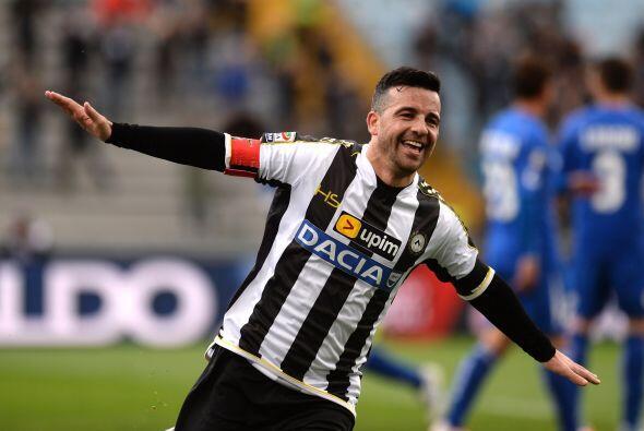 Antonio Di Natale buscará meter muchos goles y demostrar que a sus 36 añ...