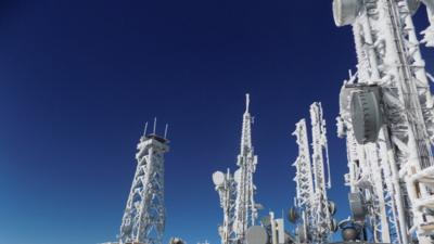 Tormentas de nieve al norte de Arizona amenazan los servicios de comunicaciones de emergencias