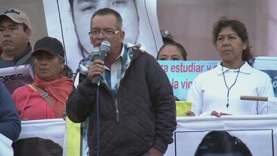 Padres de estudiantes desaparecidos exigen respuestas